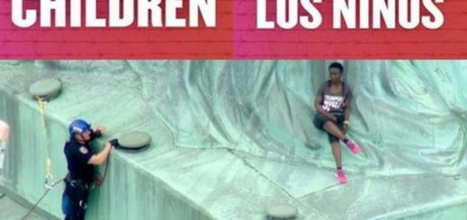 Patricia Okoumou Climbs the Statue of Liberty July 4th